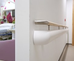 HRBC50 Hand/Crash Rails at UK Hospital