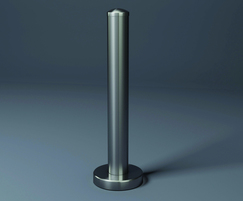 PP76 stainless steel protection post