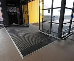 Helix Entrance Matting at IKEA Manchester