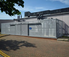 SLP Screening Louvres at Nuffield Hospital