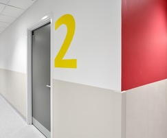 Durable, easy to maintain finish for walls and doors