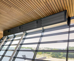 RSH5700 ventilation louvres - Met Office, Exeter