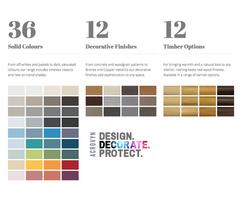 Construction Specialties: CS unveils new Acrovyn colour range