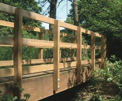 FSC softwood timber kit bridge