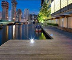 Hardwood deck, Paddington Basin