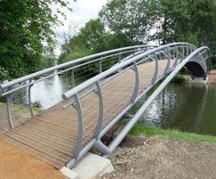 Bridge designed for The Morton Partnership