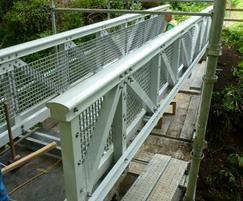 7.9 x 1.2m FRP bridge