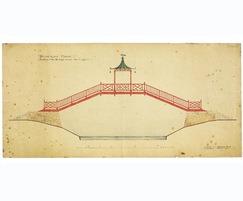 Rober Weir Shultz original Chinese bridge design