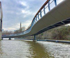 Pedestrian bridge - Finzels Reach, Bristol