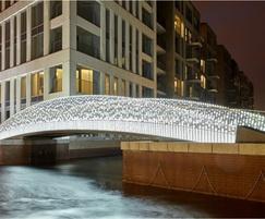 Chelsea Creek Bridge, courtesy of Berkeley Group