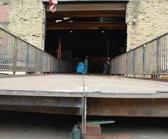 CTS widened door to accommodate bridge