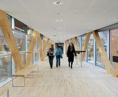 Markant acoustic suspended ceiling panel