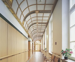 Curvex ceiling panels