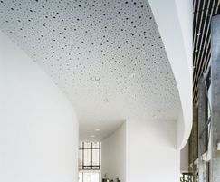 Stratopanel seamless acoustic gypsum ceiling panel