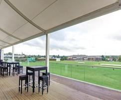 External balcony - Vista™ handrail and structural glass