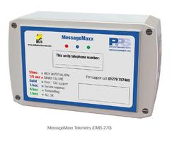 MessageMAXX™ telemetry for remote monitoring
