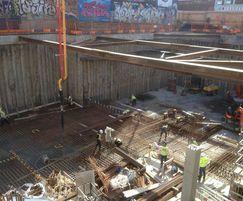 Waterproofing of a huge double level basement in London