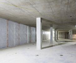 MS20 floor membrane and MS500 wall membrane
