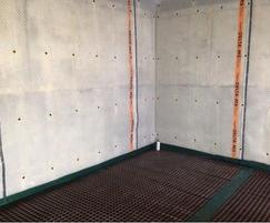 Wall and floor waterproofing with Delta membranes