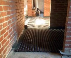 Delta MS20 floor membrane for waterproofing