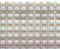 Close-up of DELTA® PT-Lath meshed membrane