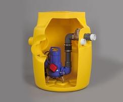 Foul V3 sump pump station