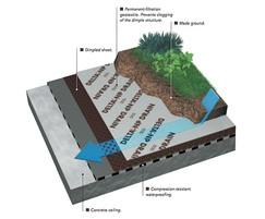 DELTA®-NP drainage membrane - details