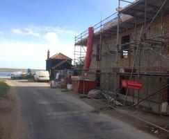 Damp-proofing and waterproofing of seaside property
