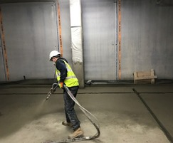 Waterproofing of floors