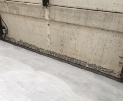 Koster NB1 at wall / floor joints
