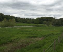 River Eden, Eden valley, close to the property