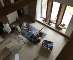 Finishing phase of project