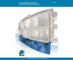 Delta Membrane Systems: Delta launches new Basement Pump & Drainage Brochure