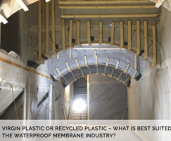 Delta Membrane Systems: Waterproofing membranes – virgin or recycled plastic?