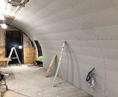 Waterproofing solution for historic vault