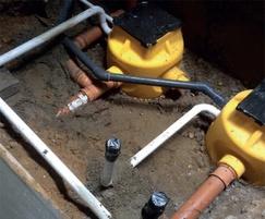 Basement drainage protection