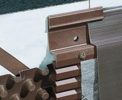 DELTA®-GEO-DRAIN Quattro - fixing detail