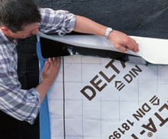 The four layers of DELTA® Geo Drain Quattro