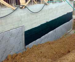 DELTA®-NP drainage membrane