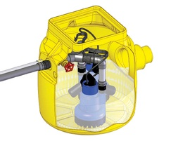 Dual V3.1 groundwater sump in operation