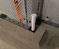 Cavity drain system Access port