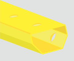 Yellow Channel without upstand