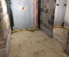 Basement waterproofing solution