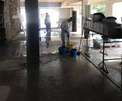 Historic building basement waterproofing solution
