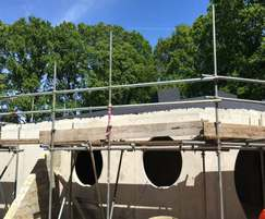 Structural waterproofing for  holiday home