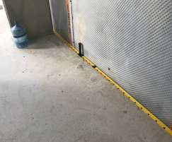 Structural waterproofing of commercial development
