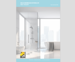 Delta Membrane Systems: Delta Membrane Systems launches new Wet Room brochure