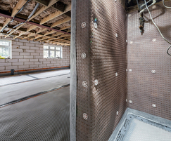 Basement waterproofing from Delta Membrane Systems