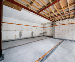 Waterproofing the basement of a private dwelling