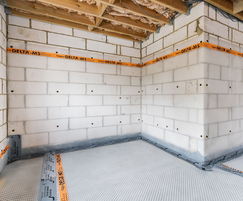 Structural waterproofing for basement